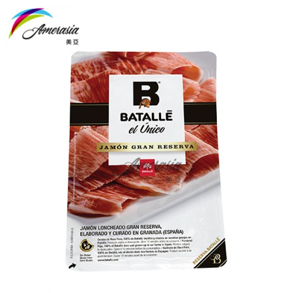 Amerasia Food Service Company Limited Reserva Batalle Sliced Jamon Duroc Jamon Cured Ham Premium Products