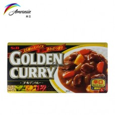 S & B 咖哩辛口 (10盒/排)
