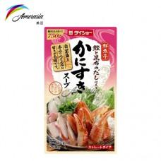 蟹肉壽喜鍋湯底