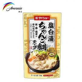 椎茸豚雞火鍋湯底