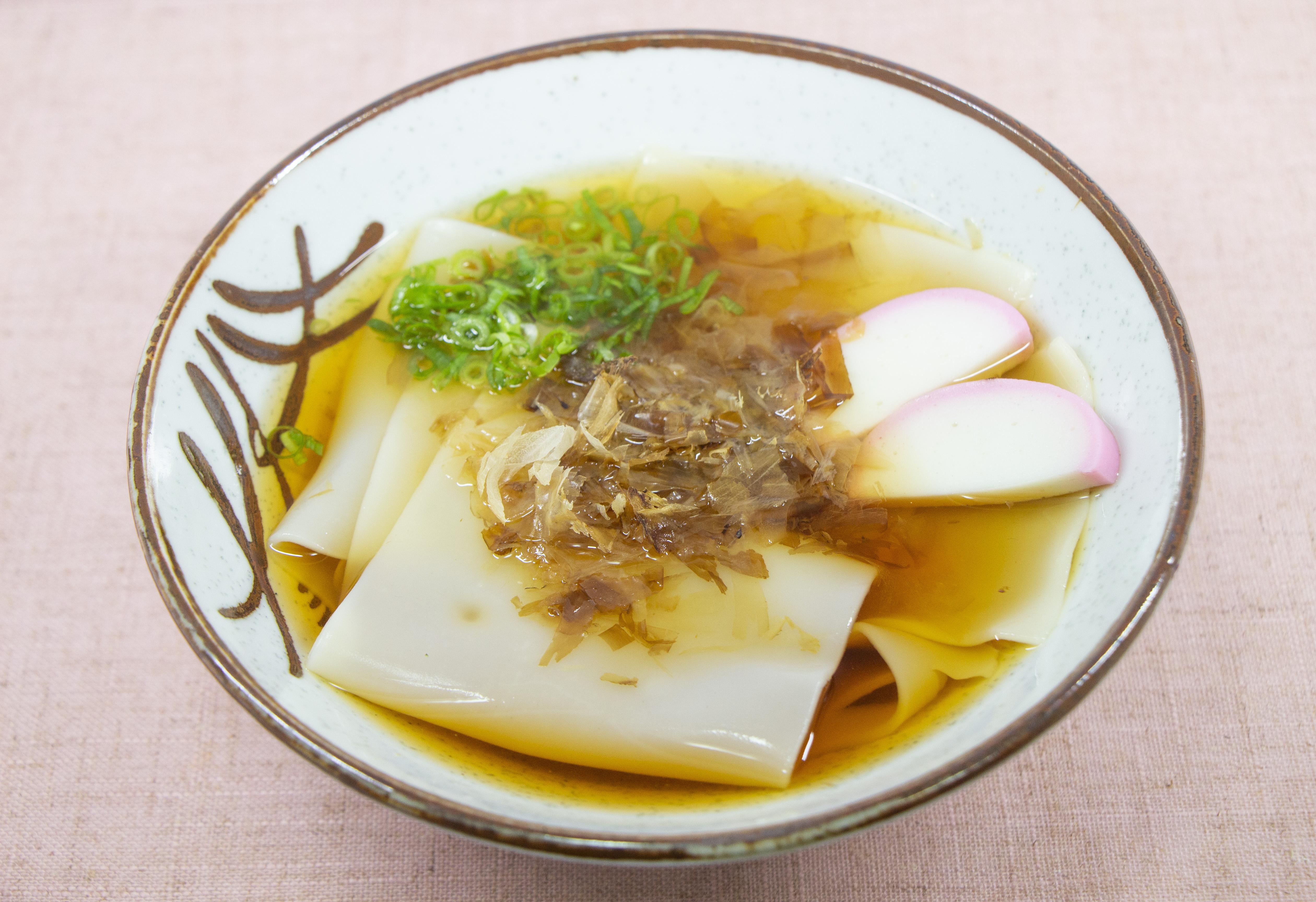 白布烏冬湯麵