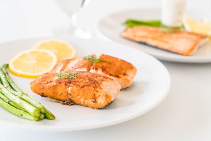 蒔蘿檸檬焗鱈魚